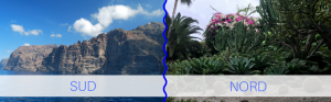 Differenze tra Nord e Sud di Tenerife